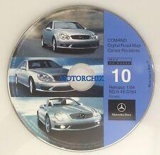 2003 2004 Mercedes Benz SL600 SL500 SL55 SL-Class Navigation CD #10 CANADA Map