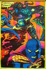DR STRANGE AND ETERNITY MARVEL THIRD EYE BLACK LIGHT poster TE 4007 GENE COLAN