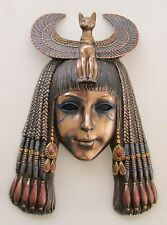 Egyptian Bast Bastet Cat Goddess Queen Mask Wall Hanging Priestess #WU76324A4