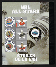 Canada Stamps -Full Pane of 6 in Cover -2001, NHL All Stars #1885 -MNH