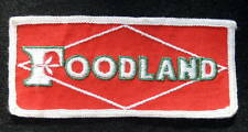 FOODLAND EMBROIDERED SEW ON PATCH GROCERY CHAIN SUPERMARKET ADVERTISING LOGO