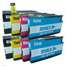 8 PK Ink Cartridge For HP 950XL 951XL OfficeJet Pro 8600 8610 8620 8625 8630