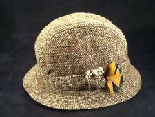 Hanna Hats of Donegal Tweed Irish Walking Bucket Hat -- Mens Sz S -- EUC!