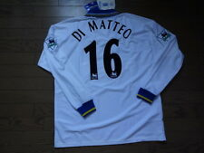 Chelsea #16 Di Matteo 100% Original Jersey Shirt XL 1998/2000 Away LS Still BNWT