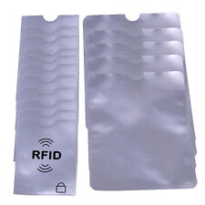 Credit Card Passport Protector RFID Blocking Case Sleeve Shield Holder Secure