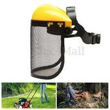 Mesh Chainsaw Safety Helmet Logging Brushcutter Forestry Face Shield Hard Hat