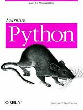 Learning Python (Help for Programmers), Mark Lutz, David Ascher, Good Condition,