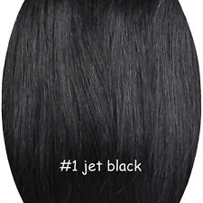 Full Head Thick Clip in Hair Extension Remy 100% Human Hair Extensions Straight