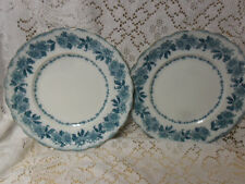 2 Antique Sevres Semi-  Porcelain Plates For Replacement or Collection-1903-