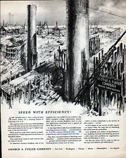 1942 GEORGE A. FULLER CO AD- SPEED with EFFICIENCY!!   Lili  Rethi