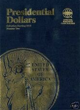 WHITMAN Presidential Dollar Number 2 Two 2012-2017 Album #2182