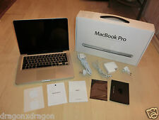 "Apple MacBook Pro 13,3"", Intel Core i5 2,5ghz, 4gb RAM, 500gb HDD, 1j. garantía"