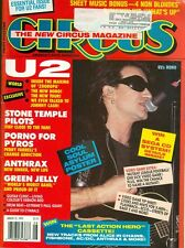 1993 Circus Magazine: Bono-U2/Stone Temple Pilots/Anthrax/Green Jelly