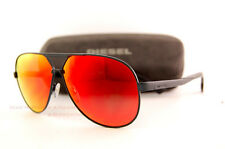 Brand New Diesel Sunglasses DL 0078 Color 92U Dark Blue/Red Mirror Men Women