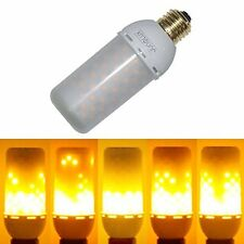 JUNOLUX LED Burning Light Flicker Flame Light Bulb Fire Effect Bulb Decorativ...