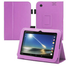 """DESIGNED SOLELY for TESCO HUDL 7"""" LEATHER CASE COVER STAND"""