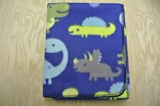 Dinosaurs Eggs Baby Blanket Toddler Blanket Can Be Personalized 28x44