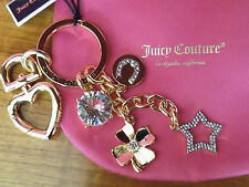 """JUICY COUTURE"" Lucky Iconic Bag Charm/Key Fob - BNWT"