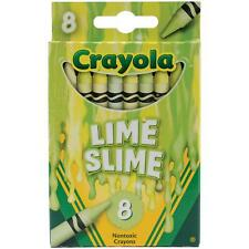 Crayola Melted Crayon Art Crayons - Lime Slime - Package of 8