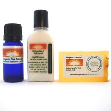 ACNE & SCAR REMOVAL SAMPLE PACK~SOAP CREAM & OIL~New Dawn Organic Remedies~Spots