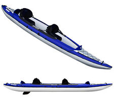 Aquaglide Columbia XP Two 13.5 ft Inflatable Kayak for 1-2 paddlers