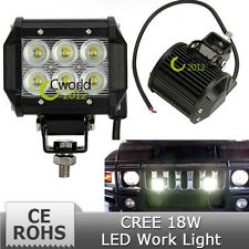 LED Off Roadling Fog Lights For all CAR's (36W, 12LED's, 3W Pure White Each).