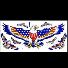 CAR HOOD FENDER MOTORCYCLE TANK DECORATION DECAL EAGLE STICKER # 2