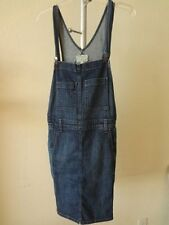 Current/Elliot The Carpenter Overall Dress In Mixed Bag 3 NWT