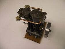 stuart turner D10 model steam engine. Unfinished project. 1970s