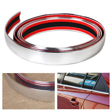 DIY Car Styling  2.5M Chrome Moulding Trim Strip Decor Adhesive Strip cover Tape