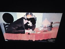 """Horace Pippin """"Amish Letter Writer"""" African-American Modern Naive Art 35mm Slide"""