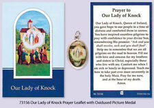 OUR LADY OF KNOCK RELIC MEDAL & PRAYER CARD STATUES CANDLES PICTURES ALSO LISTED