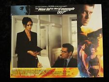 THE WORLD IS NOT ENOUGH lobby card #6 PIERCE BROSNAN, JAMES BOND 007