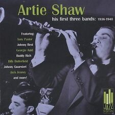 FREE US SH (int'l sh=$0-$3) NEW CD Artie Shaw: 1936-1940 His First Three Bands