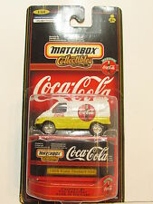 MATCHBOX  COLLECTIBLES  #01/16 COCA COLA - 1955 FORD TRANSIT  VAN