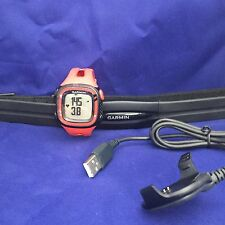 New Genuine Garmin Forerunner 15 Watch and Heart Rate Monitor - Red/Black