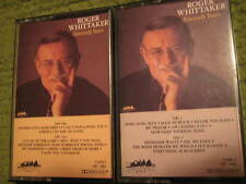 Lot of 2 Cassettes ROGER WHITTAKER Sincerely Yours Volumes 1 & 2