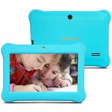 "Tablet 7"" para Niños 1GB RAM 8GB ROM Quad Core Resolución HD Android 4.4 Azul"