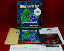 PC DOS:  X-COM: Terror from the Deep - Microprose 1995 - Erstauflage mit OVP