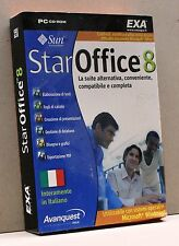 STAR OFFICE 8 [pc cd-rom, italiano, exa software, windows, avanquesty italia]