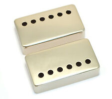 (2) Nickel Covers for Vintage Gibson® PAF Humbucker Pickups PC-0300-001