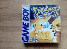 POKEMON AMARILLO PRECINTADO SEALED NEW PAL ESPAÑA GAME BOY GAMEBOY NINTENDO