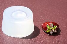 SALE!!!Clear handmade Silicone Mold for Strawberry Rings size 8.  Free USA Shipp