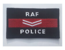 RAF Police Cpl , Royal Air Force  embroidered cloth patch. Iron or sew on patch