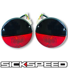 BLACK/RED VINTAGE TAILLIGHT KIT FOR SICKSPEED REAR FINISH PANEL CONVERSION