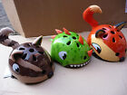 Bicycle Helmet Childs Bike Dinosaur Fox Chipmunk Cycle Scooter Skateboard NEW