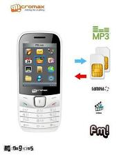 New MicroMax CG666 - White Color - CDMA + GSM - Tata / Reliance - Mobile Phone