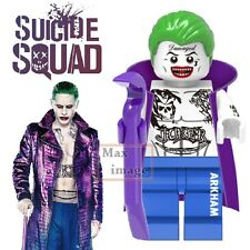 1pc Joker Minifigures Building Blocks Toy DC Suicide Squad Custom Lego #319