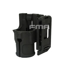 "Tactical FMA V85 1.25"" 30mm Speed Flashlight Torch Holster With Belt Black"