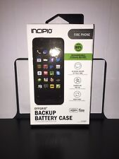New Incipio offGRID Backup Battery Case Black - Amazon Fire Phone-Authentic !!